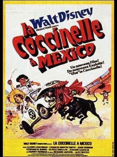 Affiche du film COCCINELLE A MEXICO (LA) - HERBIE GOES BANANAS