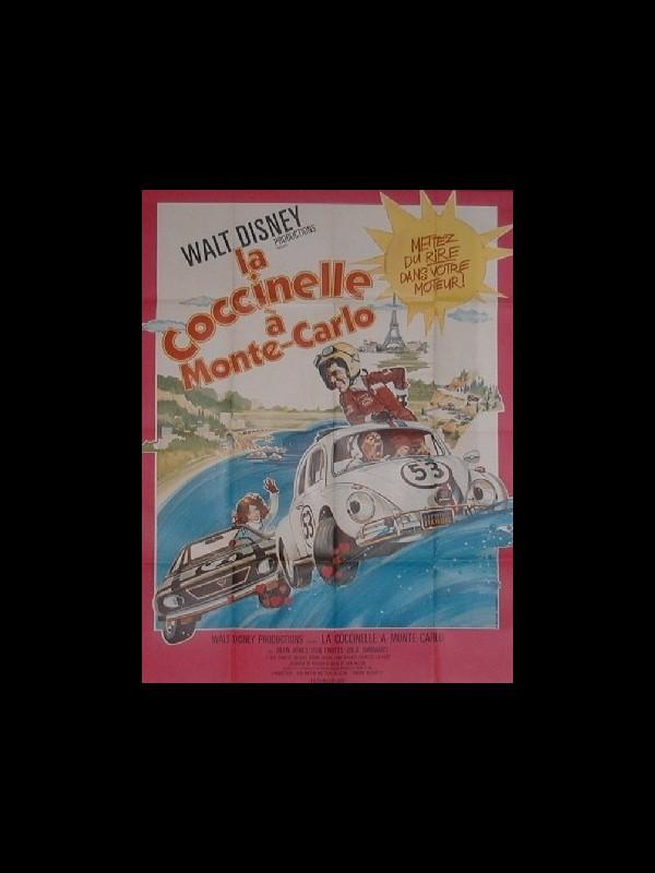 Affiche du film COCCINELLE A MONTE-CARLO (LA) WALT DISNEY