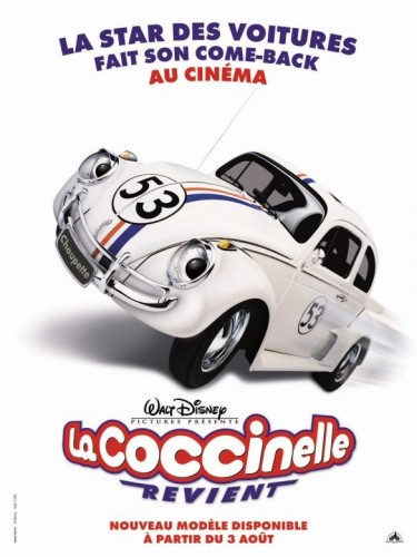 Affiche du film COCCINELLE REVIENT (LA) - HERBIE : FULLY LOADED