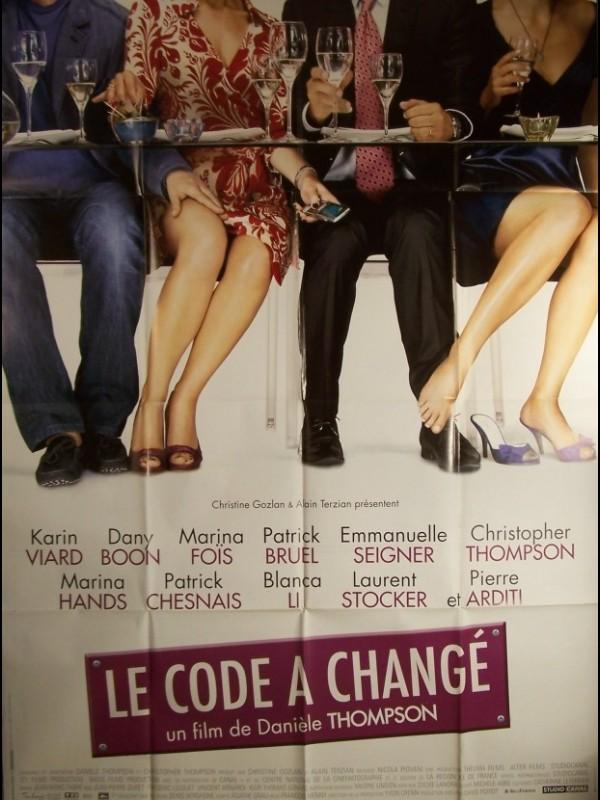 Affiche du film CODE A CHANGE (LE)