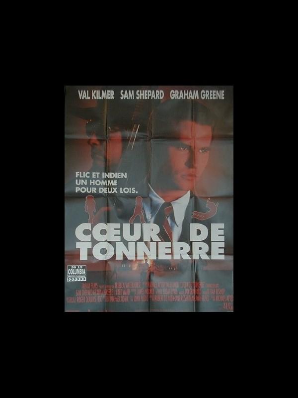 Affiche du film CŒUR DE TONNERRE - THUNDERHEART