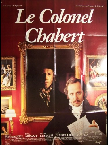 Affiche du film COLONEL CHABERT (LE)