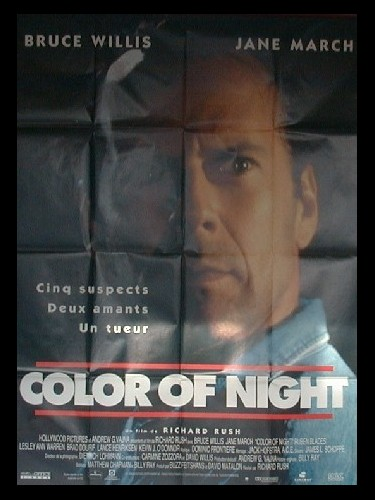 Affiche du film COLOR OF NIGHT - COLOR OF NIGHT