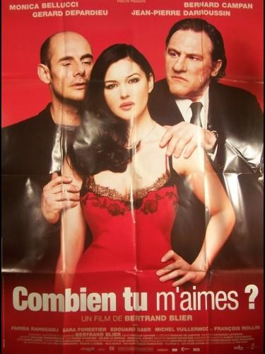 Affiche du film COMBIEN TU M'AIMES