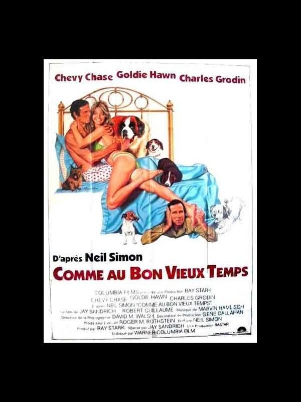 Affiche du film COMME AU BON VIEUX TEMPS - SEEMS LIKE OLD TIMES