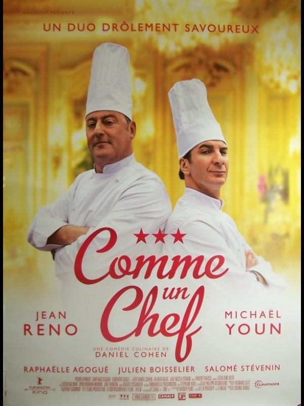 Affiche du film COMME UN CHEF (AFFICHE ROULÉE)