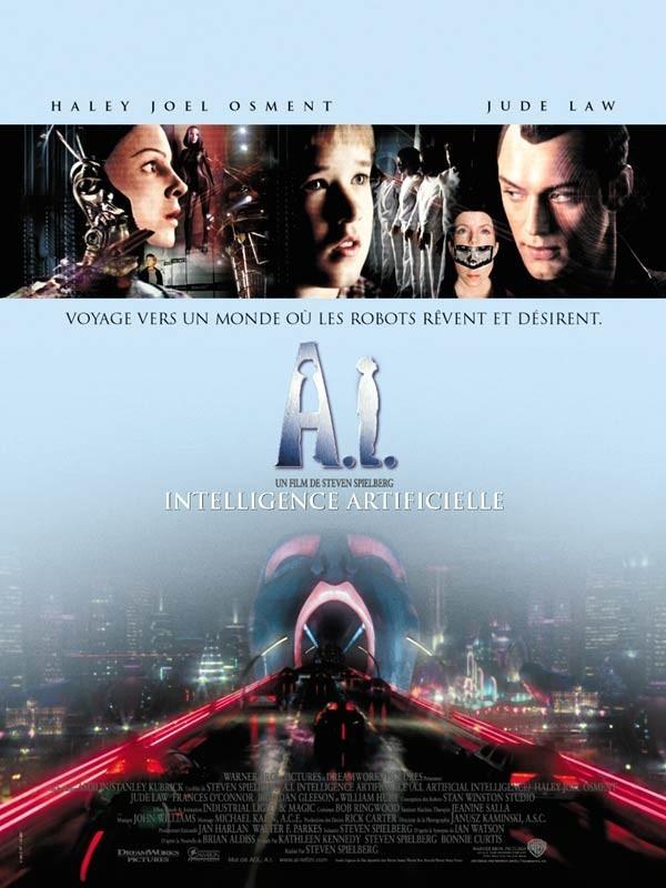 Affiche du film A.I. INTELLIGENCE ARTIFICIELLE - A.I. ARTIFICIAL INTELLIGENCE