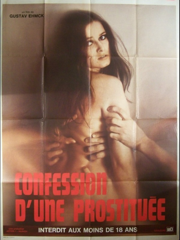 Affiche du film CONFESSION D'UNE PROSTITUEE - DIE SPALTE