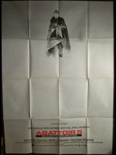 Affiche du film ABATTOIR 5 - SLAUGHTERHOUSE-FIVE