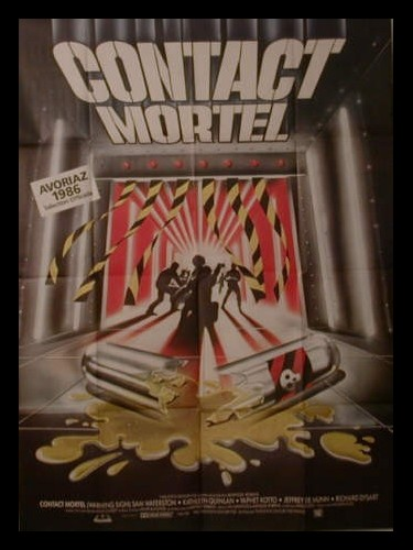 Affiche du film CONTACT MORTEL - WARNING SIGN