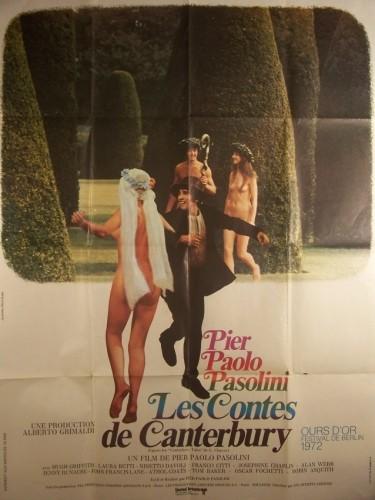 Affiche du film CONTES DE CANTERBURY (LES) - CANTERBURY'S TALES (THE)