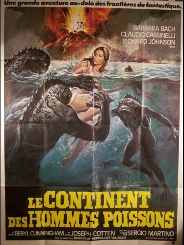 Affiche du film CONTINENT DES HOMMES POISSONS (LE) - L'ISOLA DEGLI UOMINI PESCE