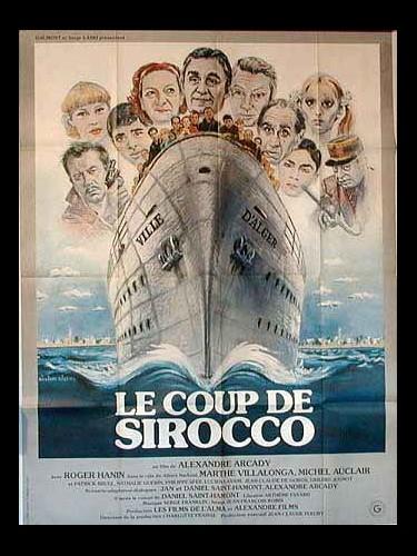 Affiche du film COUP DE SIRROCO (LE)