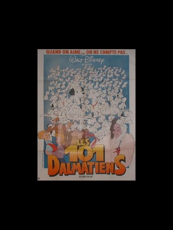 Affiche du film 101 DALMATIENS (LES) - ONE HUNDRED AND ONE DALMATIANS (THE)