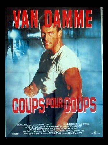 Affiche du film COUPS POUR COUPS - DEATH WARRANT