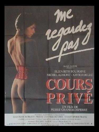 Affiche du film COURS PRIVE