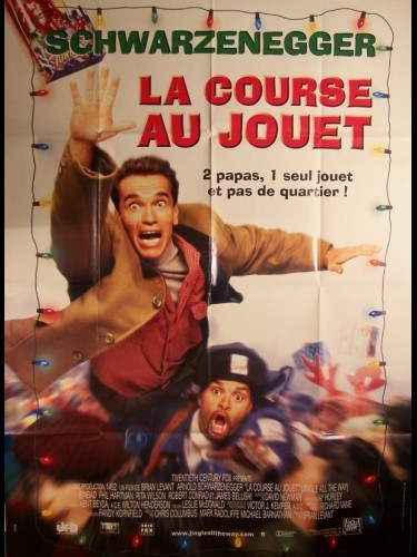 Affiche du film COURSE AU JOUET (LA) - JINGLE ALL THE WAY