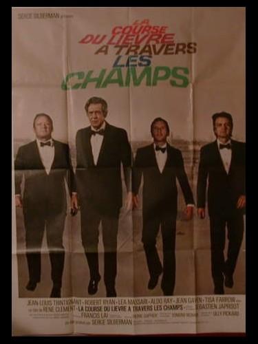 Affiche du film COURSE DU LIEVRE A TRAVERS LES CHAMPS (LA )