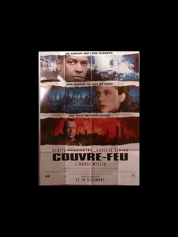 Affiche du film COUVRE FEU - THE SIEGE