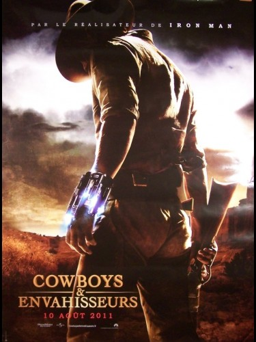 Affiche du film COWBOYS ET ENVAHISSEURS - COWBOYS AND ALIENS