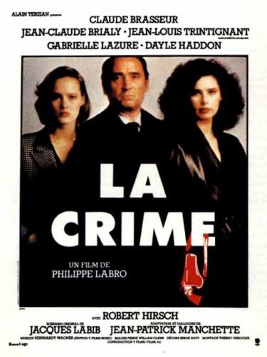 Affiche du film CRIME (LA)