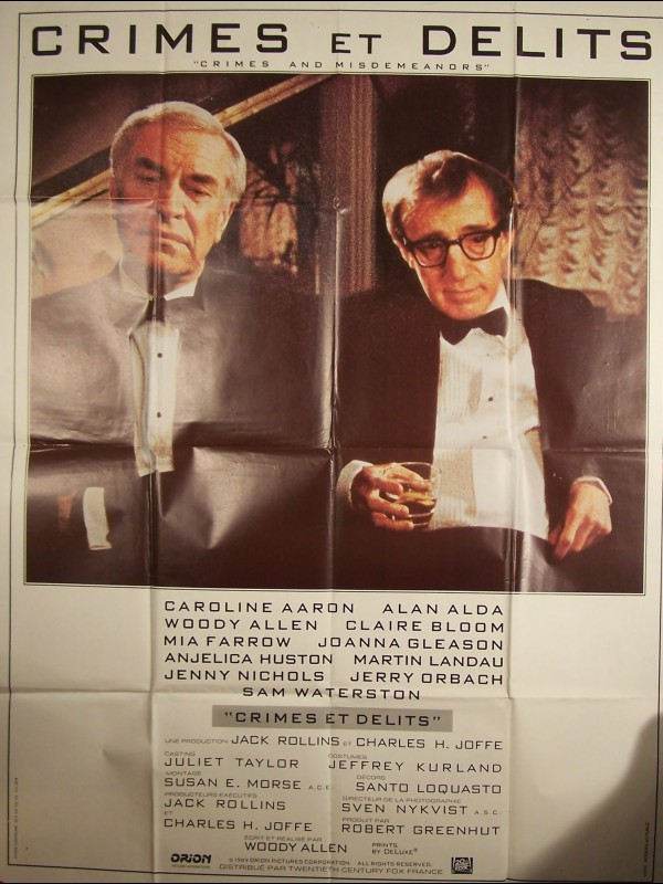 Affiche du film CRIMES ET DELITS