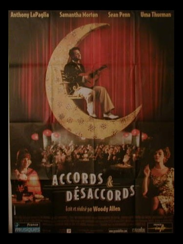 Affiche du film ACCORDS ET DESACCORDS - SWEET AND LOWDOWN