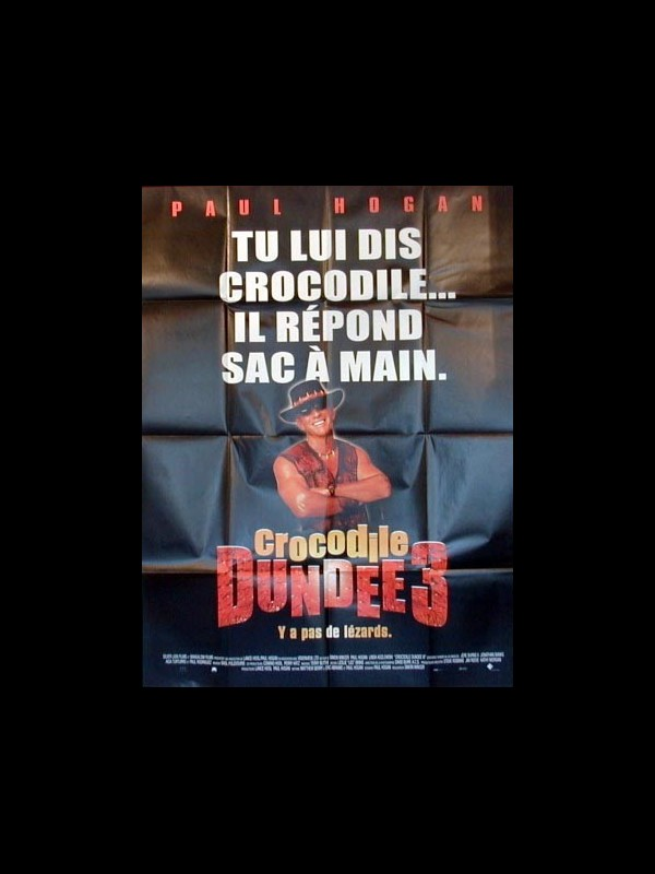 Affiche du film CROCODILE DUNDEE 3 - CROCODILE DUNDEE IN LOS ANGELES