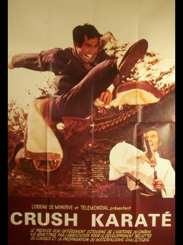 Affiche du film CRUSH KARATE