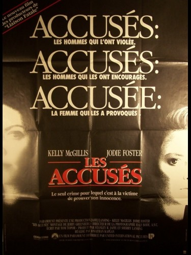 Affiche du film ACCUSES (LES) - THE ACCUSED