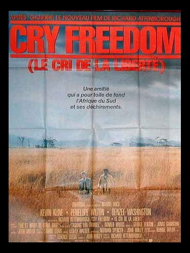 Affiche du film CRY FREEDOM