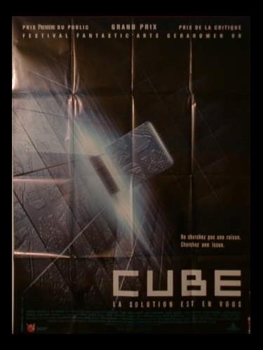 Affiche du film CUBE
