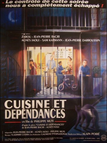 Affiche du film CUISINE ET DEPENDANCES