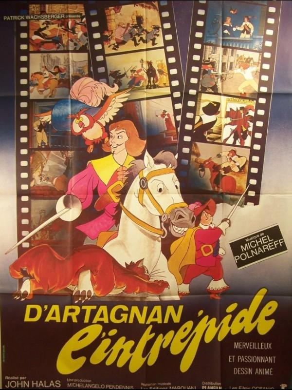 Affiche du film D'ARTAGNAN L'INTREPIDE - Titre original : THE THREE MUSKETERS