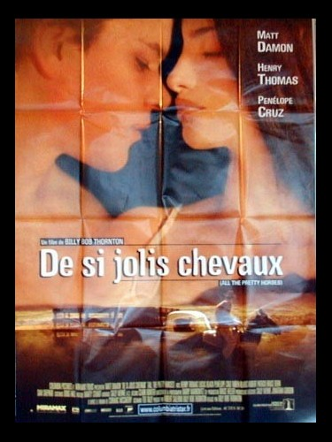 Affiche du film DE SI JOLIS CHEVAUX - ALL THE PRETTY HORSES
