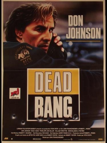 Affiche du film DEAD BANG