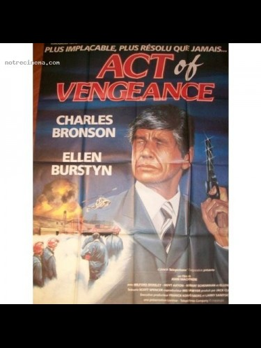 Affiche du film ACT OF VENGEANCE - ACT OF VENGEANCE