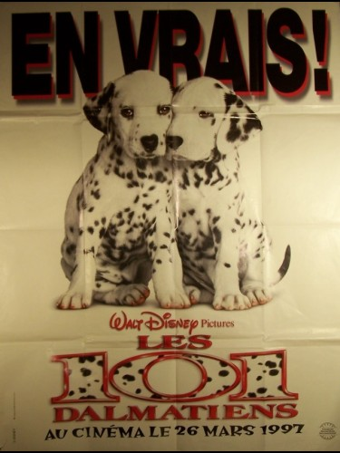 Affiche du film 101 DALMATIENS (LES) (PREVENTIVE-FILM) - 101 DALMATIANS