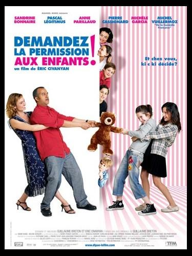 Affiche du film DEMANDEZ LA PERMISSION AUX ENFANTS