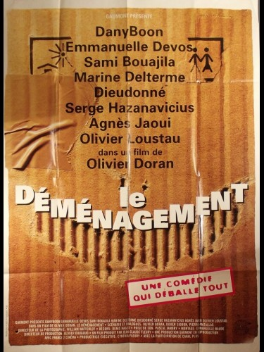 Affiche du film DEMENAGEMENT (LE)