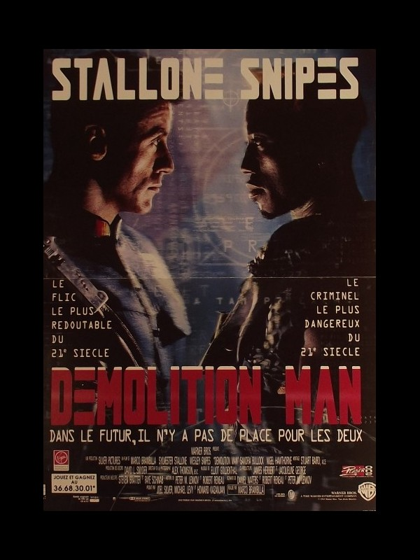 Affiche du film DEMOLITION MAN
