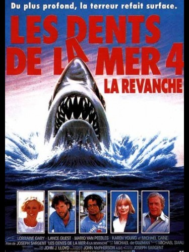 Affiche du film DENTS DE LA MER 4 (LES) - JAWS THE REVENGE