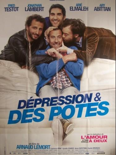 Affiche du film DEPRESSION ET DES POTES