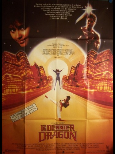 Affiche du film DERNIER DRAGON (LE) - THE LAST DRAGON
