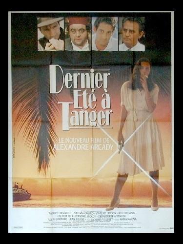 Affiche du film DERNIER ETE A TANGER
