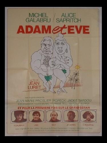 Affiche du film ADAM ET EVE - ADAM ET EVE