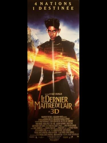 Affiche du film DERNIER MAITRE DE L'AIR (LE)