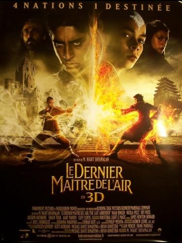 Affiche du film DERNIER MAITRE DE L'AIR (LE) - THE LAST AIRBENDER