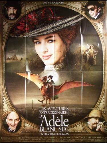 Affiche du film ADELE BLANC-SEC