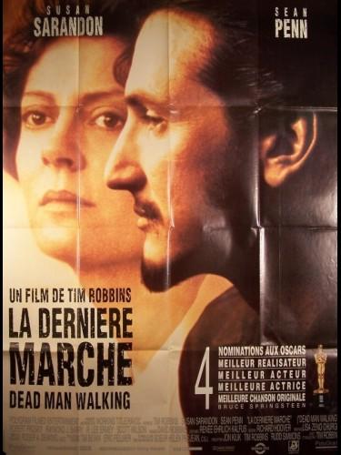 Affiche du film DERNIERE MARCHE (LA) - DEAD MAN WALKING
